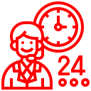consultation per hour icon
